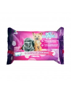 PET CLEANING TOALHETES HUMIDOS - ORIENTAL 40Un
