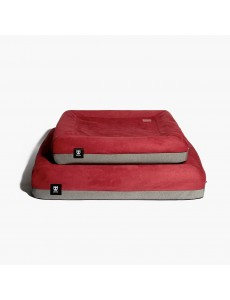 ZEE.BED COVER RED & GREY SMALL
